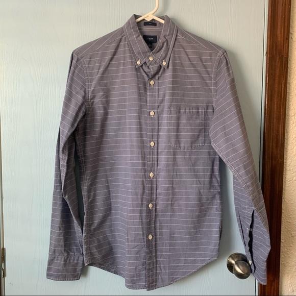 Men J. Crew Button Up Dress Shirt